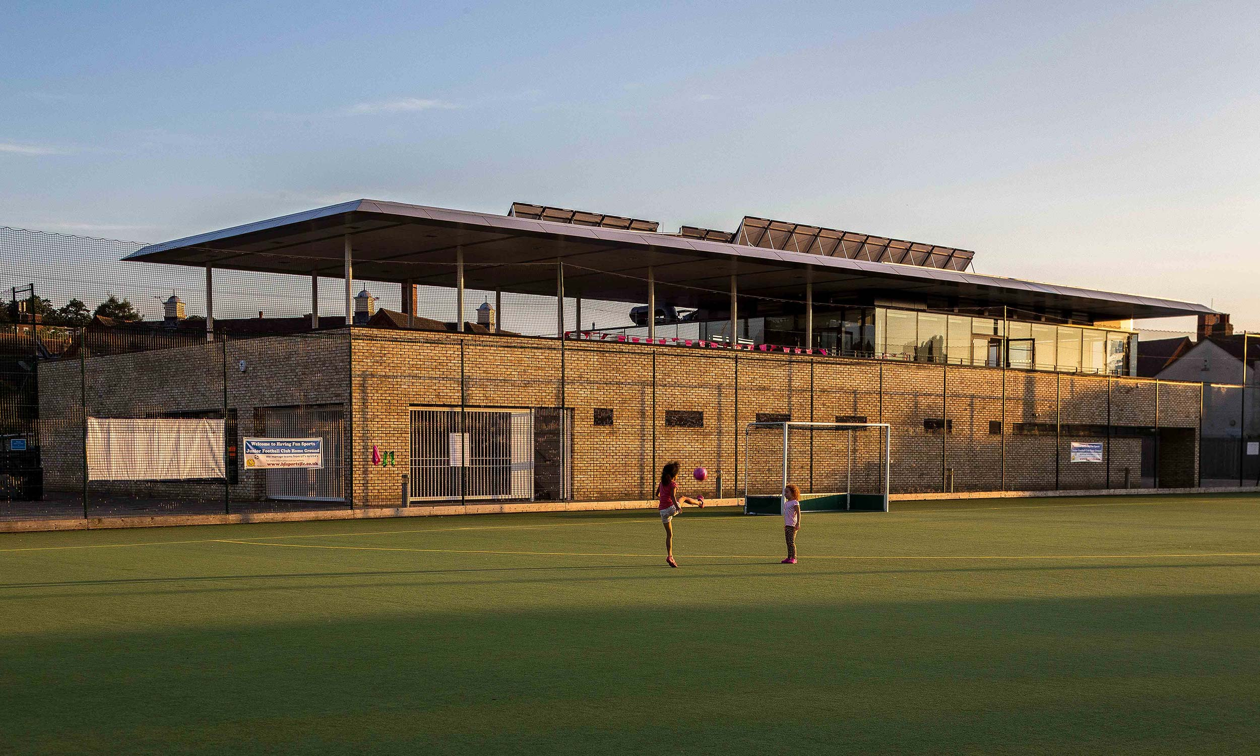 Honor Oak Park Sports Pavilion Lts Architects