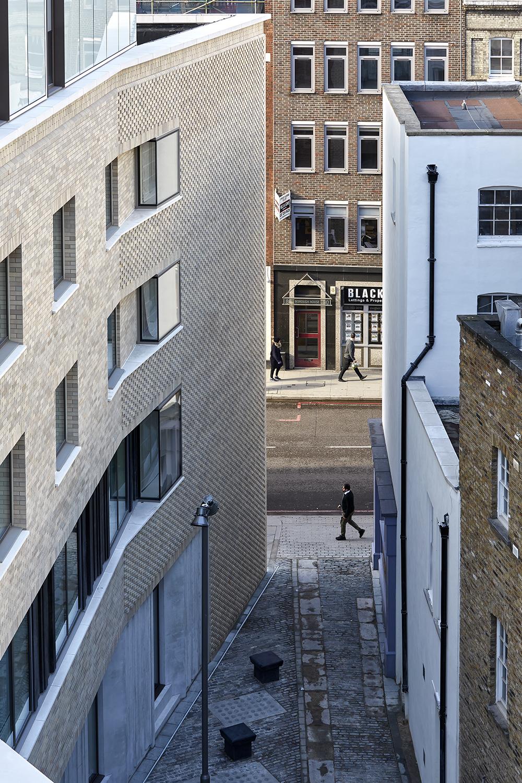 Hotel Borough High Street Lts Architects