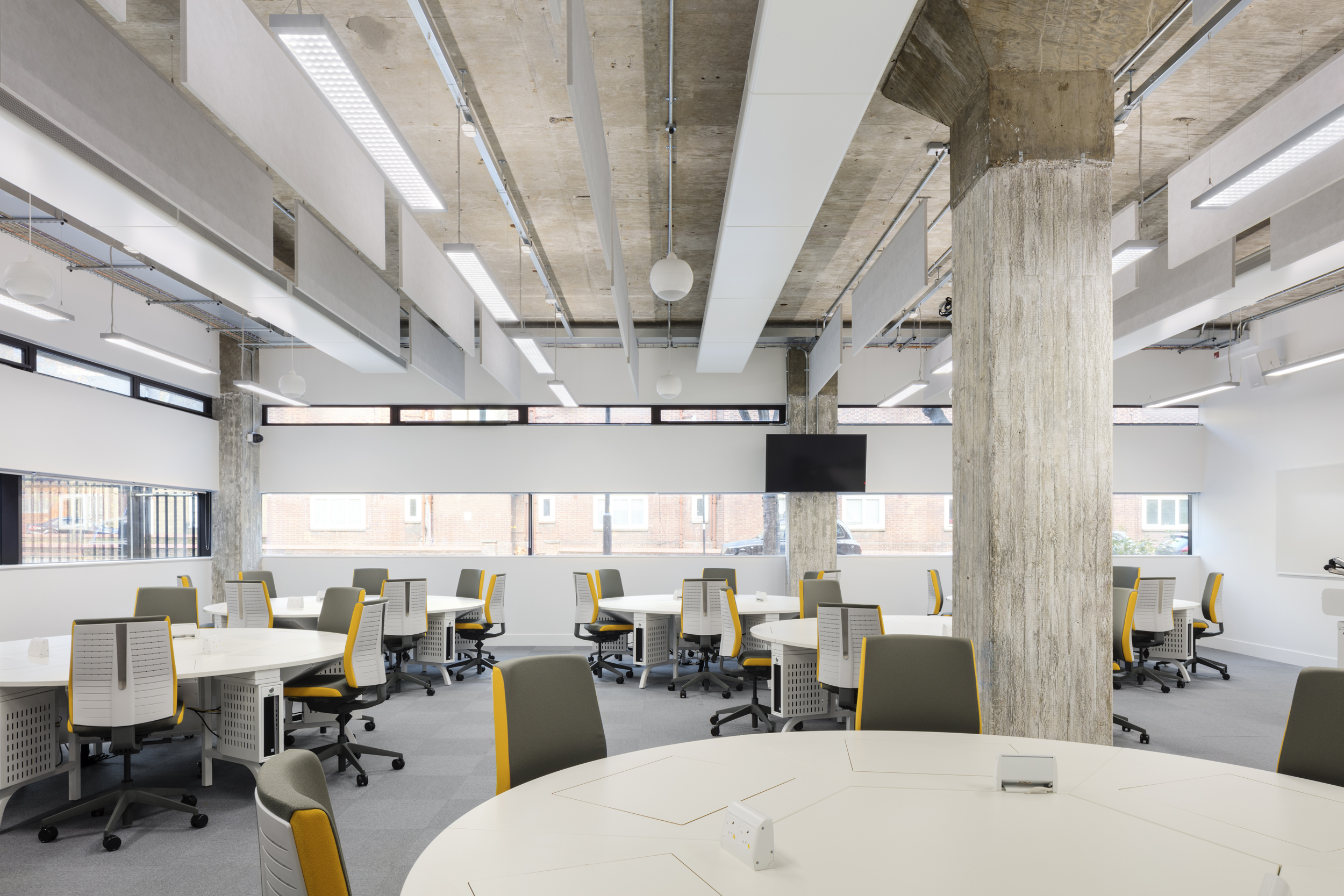 LTS Architects Drysdale City University Study Space Retractable screens