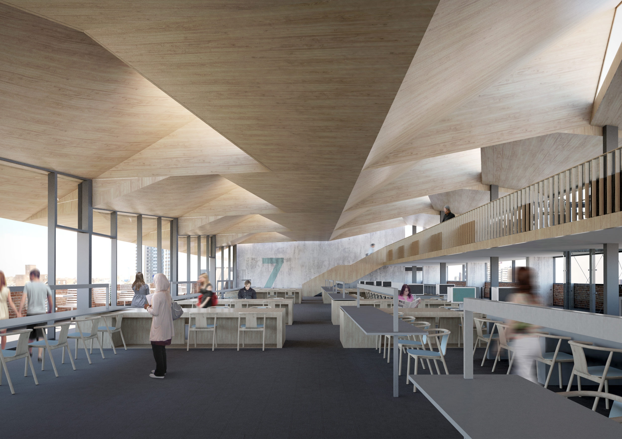 Academic Library Design University LTS Architects